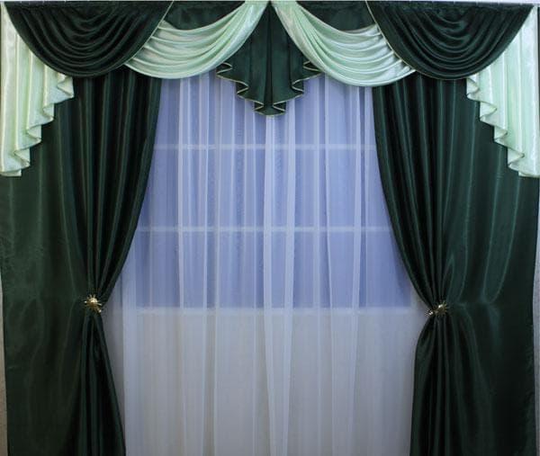 затемняющие шторы из атласа