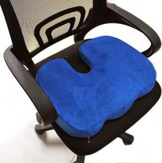 виды ортопедических подушек для сидения