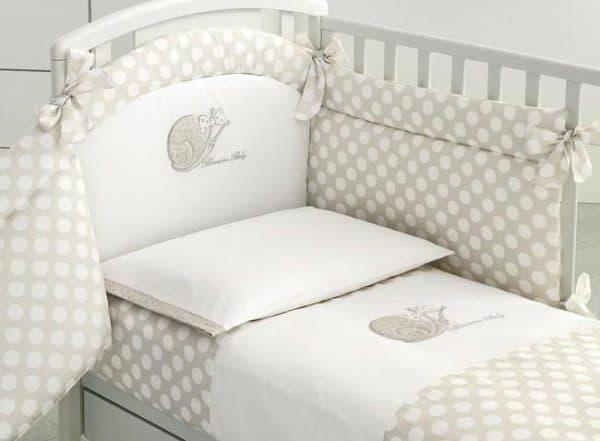 детский постельный комплект blumarine