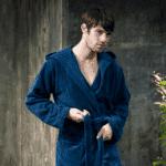 банный халат мужской