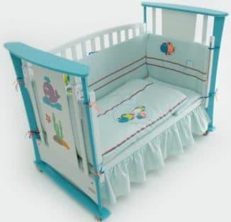 описание постельного для новорожденных