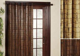 ьамбуковые шторы для дверных проемов