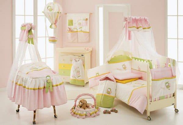 комплект постельного белья для младенцев