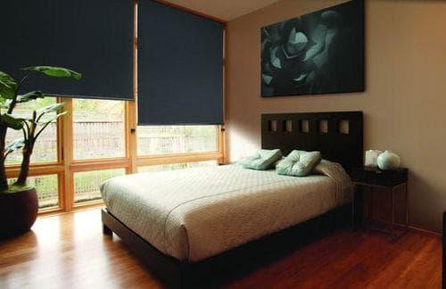 светонепроницаемые шторы для спальни