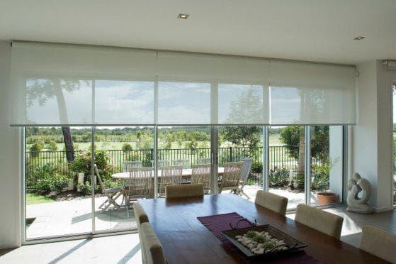 шторы рулонные для большого окна