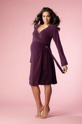 красивый халат для беременной женщины