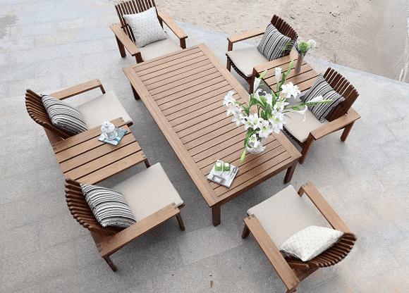прямоугольные подушки для садовой мебели