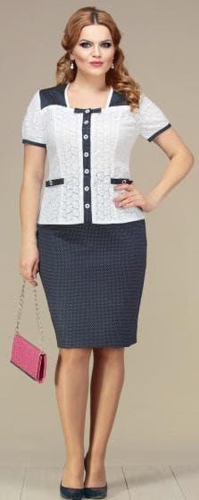 белорусский трикотаж большие размеры Mira Fashion