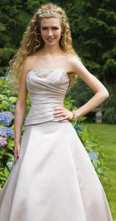 ткань Атлас для пошива свадебных платьев