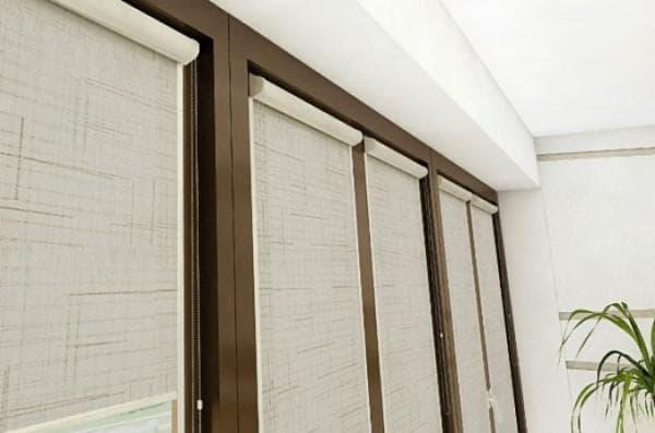 рулонно кассетные шторы на пластиковые окна