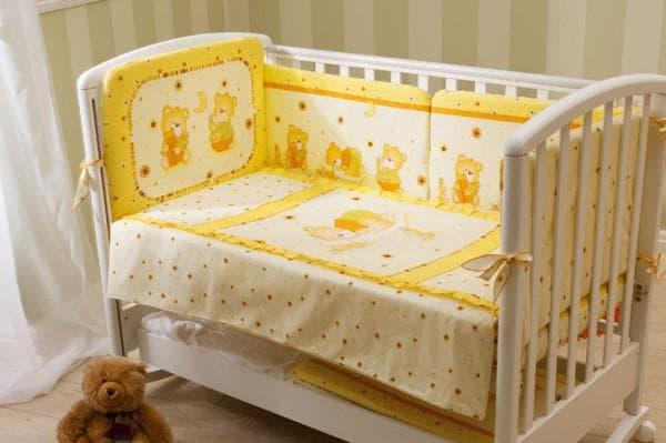 perina комплекты в кроватку модель Ника