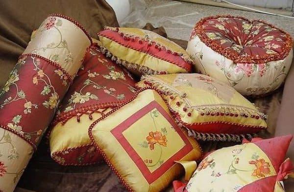 разнообразие ткани для подушки для садовой мебели
