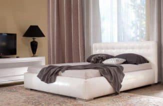 красивые кровати с матрасом