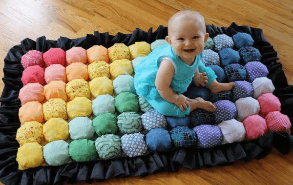 одеяло для новорожденных для игры на полу
