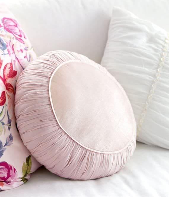 круглые подушки для садовой мебели