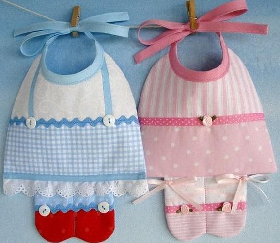 детский текстиль Селена слюнявчики