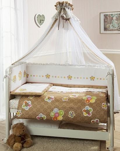 perina комплекты в кроватку модель Тиффани