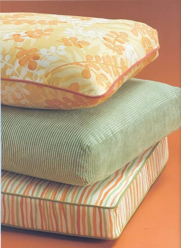 квадратные подушки для садовой мебели