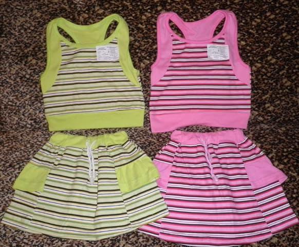 детские платья для девочек от текстильной фабрики Гном