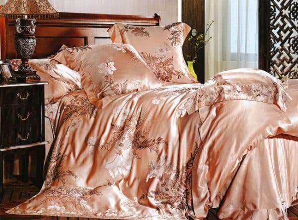 постельное белье заменитель шёлка