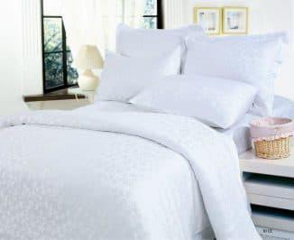 постельное белье белоснежное
