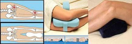 ортопедическая подушка для ног разновидности