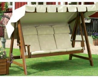 подушки для садовой мебели на сидения классические