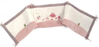 бампер в кроватку для новорожденных правило крепления