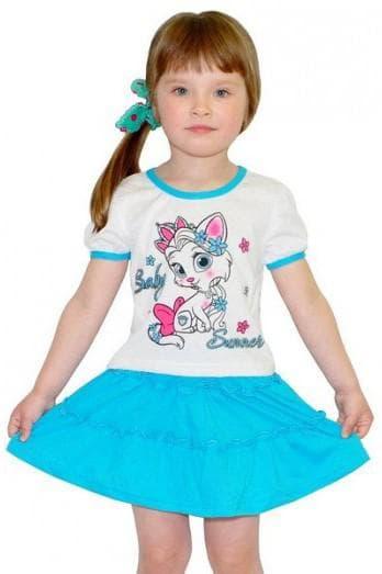 Детский трикотаж Авекс текс юбки для девочек