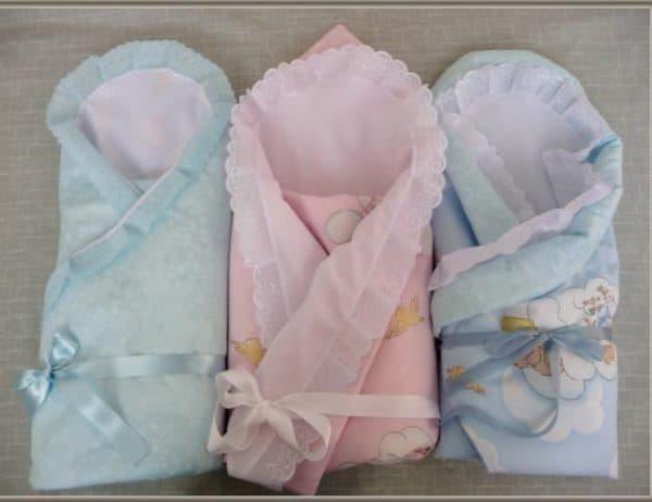 одеяло для новорожденных для выписки