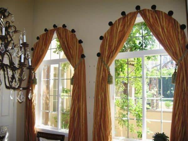икеа шторы применяются в интерьере