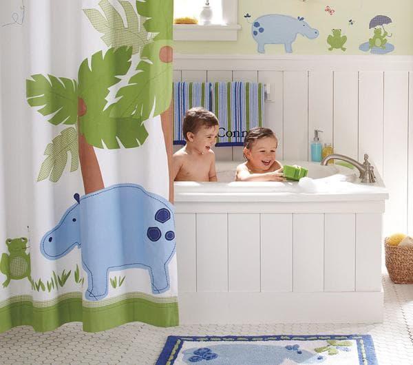 икеа шторы оформление ванной комнаты