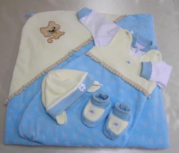 велюровые пледы на выписку для новорожденных