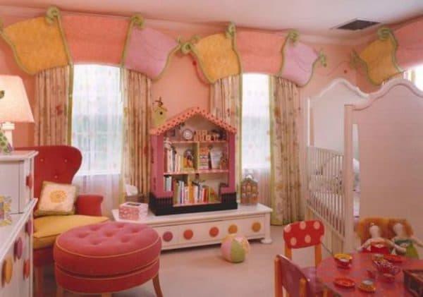 икеа шторы оформление для детской