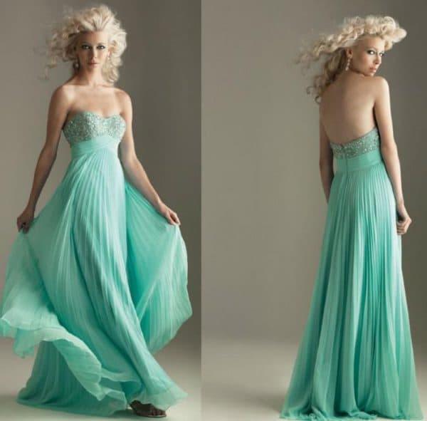 красивое платье из креп шифон