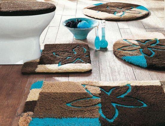 многофункциональный набор ковриков для ванной и туалета