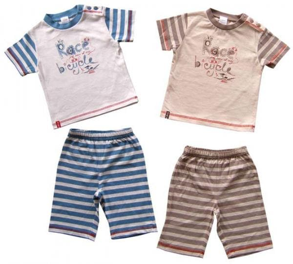футболки и шорты текстиль Пташка