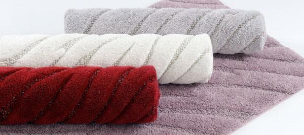 коврик в ванную из хлопковых тканей
