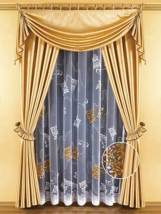 тюли и шторы для гостиной Леруа Мерлен