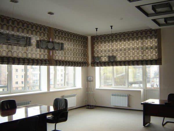 римские шторы от компании Икеа