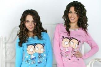 трикотаж из Иваново от Моделини красивые пижамки для сна