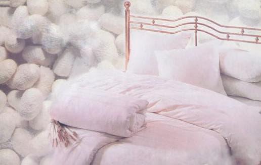 двуспального одеяла наполнитель шелк