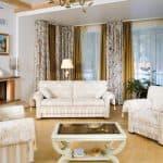 комплект накидок на диван и кресла