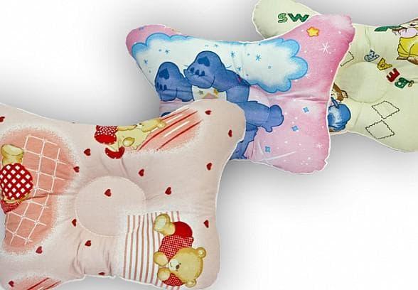 детская ортопедическая подушка с синтепоном