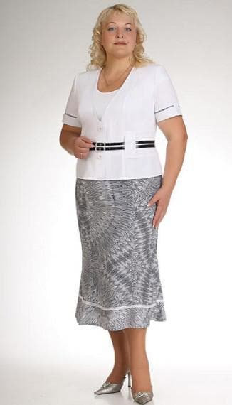 одежда больших размеров от фирмы Трикотаж Бай