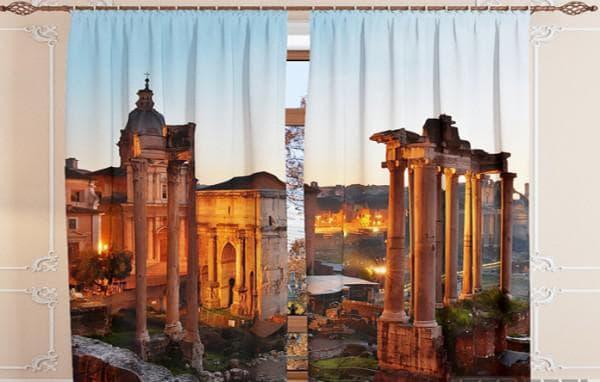 Томдом римские шторы