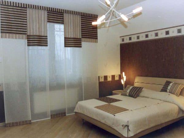 японские шторы в леруа мерлен в спальню