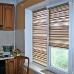 рулонные шторы на магнитах на пластиковые окна
