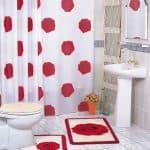 шторы для ванны тканевые