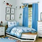 шторы в морском стиле для детской